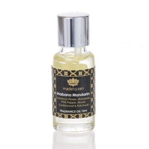 HABANA MANDARIN  - Signature Scented Fragrance Oil Made By Zen 15ml